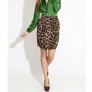 Karen Kane leopard Skirt